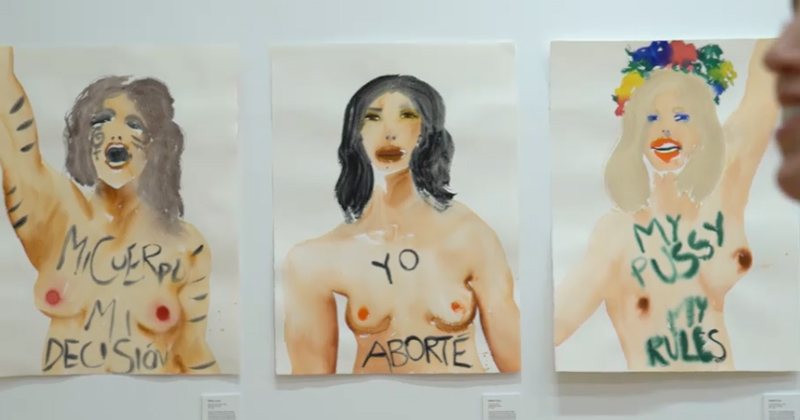 Pro-Abortion Art Exhibit Hopes to Destigmatize Murdering Babies