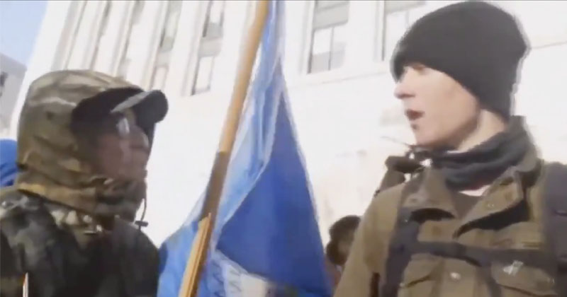 Patriots Expose Provocateur Promoting Violence At 2nd Amendment Rally