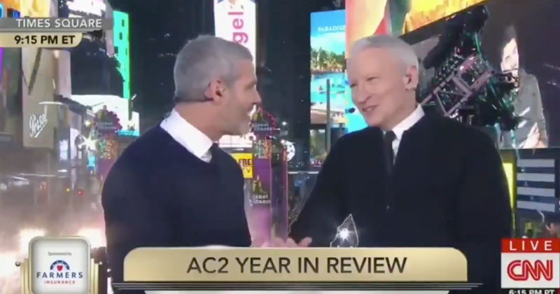 Stay Classy CNN: Anderson Cooper Discusses 'Who has biggest C**k in Hollywood' During New Year's Broadcast