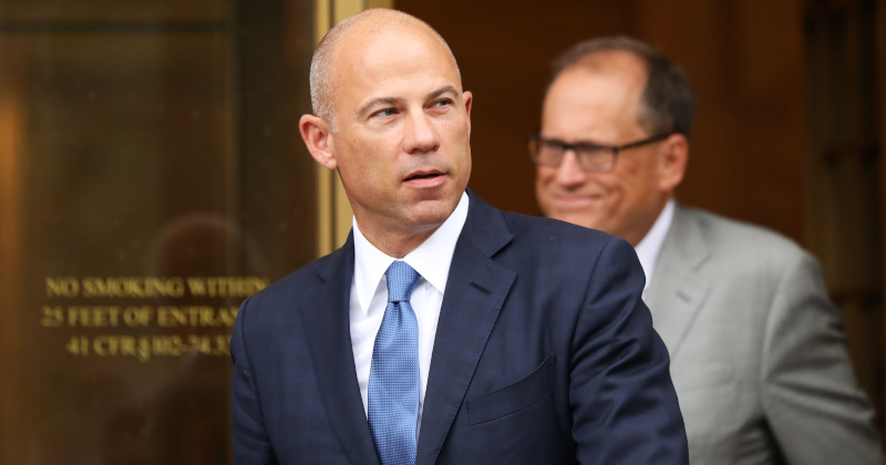 Michael Avenatti Arrested at Los Angeles Courthouse