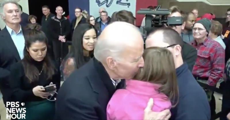 Please Just Stop Already: Biden Sniffs Little Girl