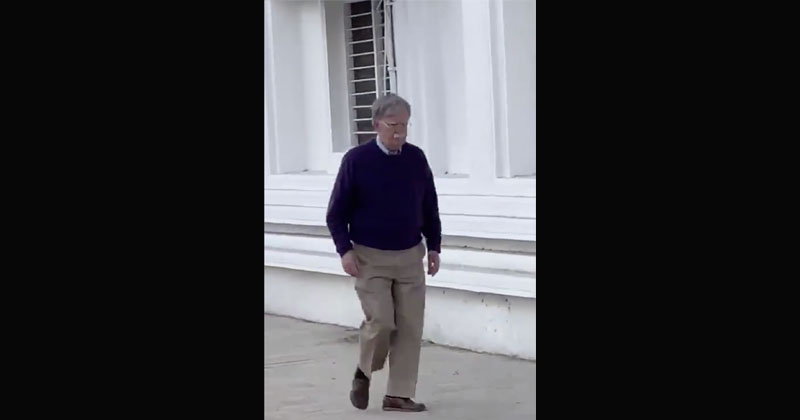Video: John Bolton Seen Wandering Around In Qatar