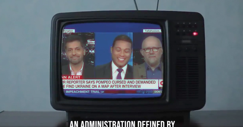 """""""They Think You're a Joke"""": New GOP Ad Features CNN Don Lemon, Guests Laughing at Trump Voters"""