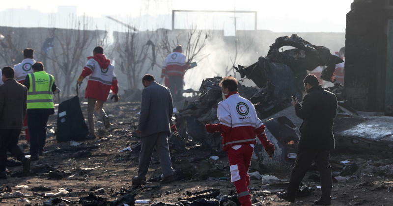 Iran Makes First Arrests In Downing of Ukrainian Plane