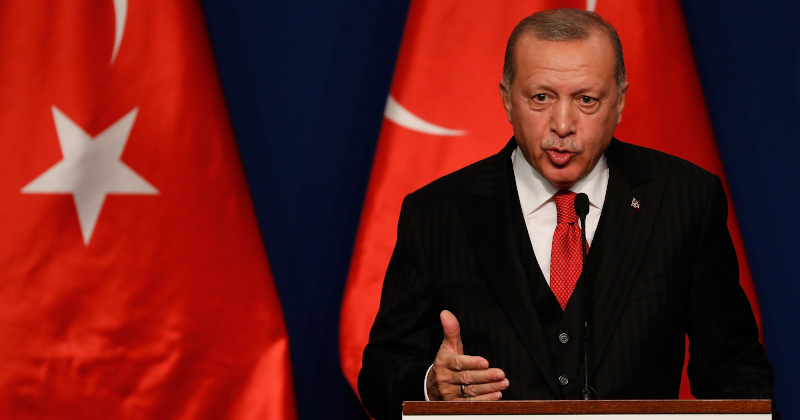 """""""Why Don't They Open The Gates?"""" Erdogan Questions Europe As 250,000 Flee Syria"""