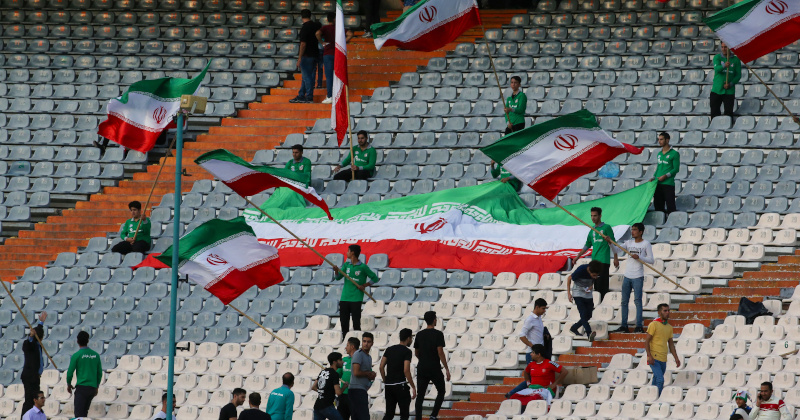 Iran Now Banned From Hosting International Soccer Matches