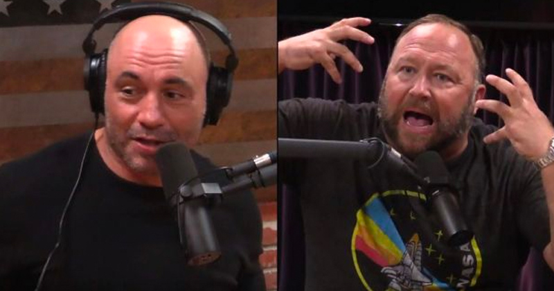 Update: Alex Jones Clarifies Joe Rogan Spotify Censorship Claims