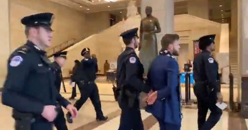 Owen Shroyer Arrested for Silent Protest As Globalists Test Internet Kill Switch