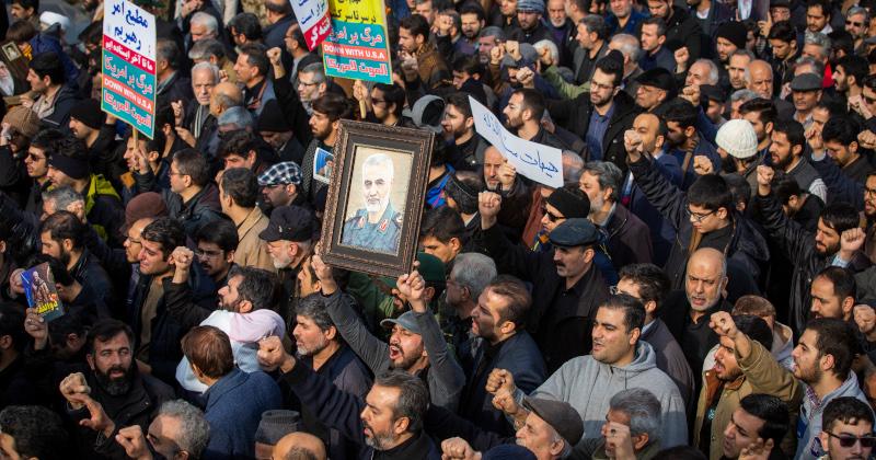 Dozens Killed, Injured in Stampede at Soleimani Funeral