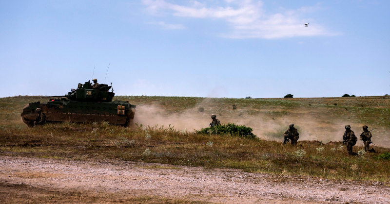 US Army Begins Largest War Exercise In Europe In Decades
