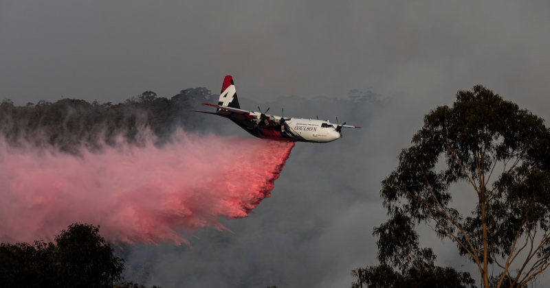 Three Americans Die Fighting Australian Fires as Tanker Aircraft Crashes