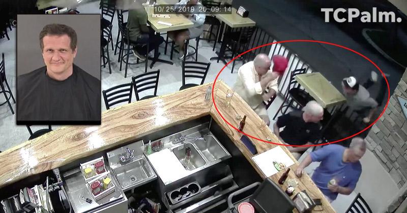 Man Jailed 90 Days for Spitting on MAGA Hat Wearing Bar Patron