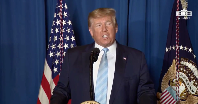 Watch Live: President Trump Gives Statement After Drone Strike of Top Iranian General Soleimani