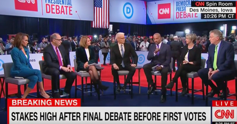 "Watch: CNN Commentator Van Jones Admits, ""There was nothing [at debate] that would be able to take Trump out"""