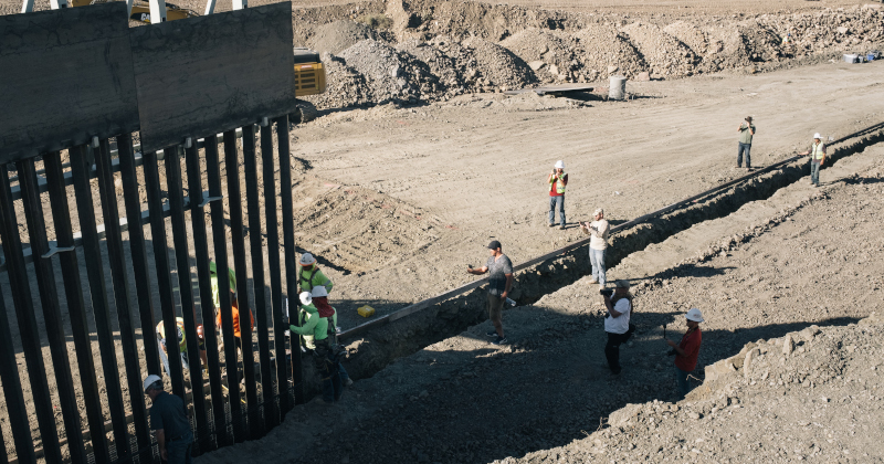 Pentagon Evaluating DHS Request to Fund 13 Sections of Border Wall