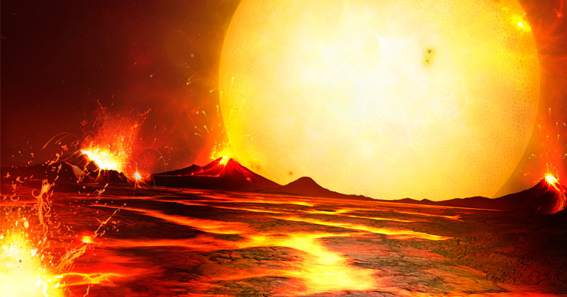 Chill Out, Babe! Scientists Say Exoplanet So Hot That it Kills Its Own Atmosphere