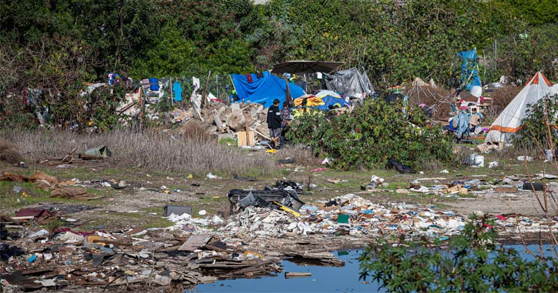 Homeless Camps Polluting Local Water Supplies