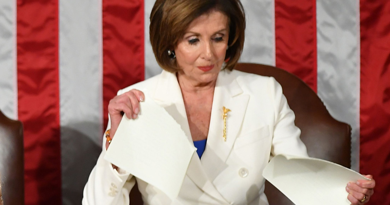 Long-Time Dems Quitting Party Over Pelosi Ripping Up SOTU Speech