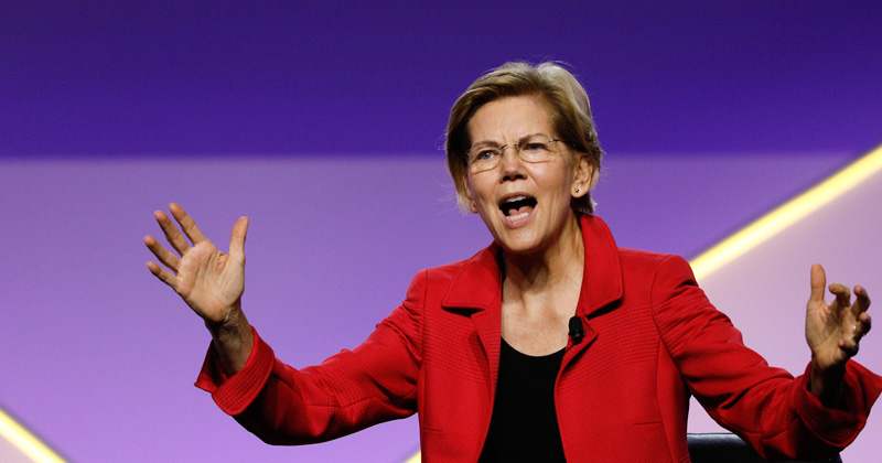 Warren Brags About Broke College Girl Depleting Half Her Savings to Donate to Her Campaign