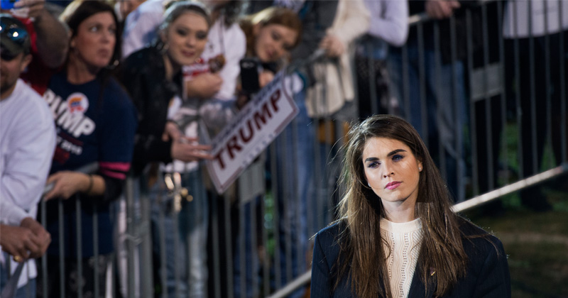 Hope Hicks Returns To White House as 'Counselor to the President'