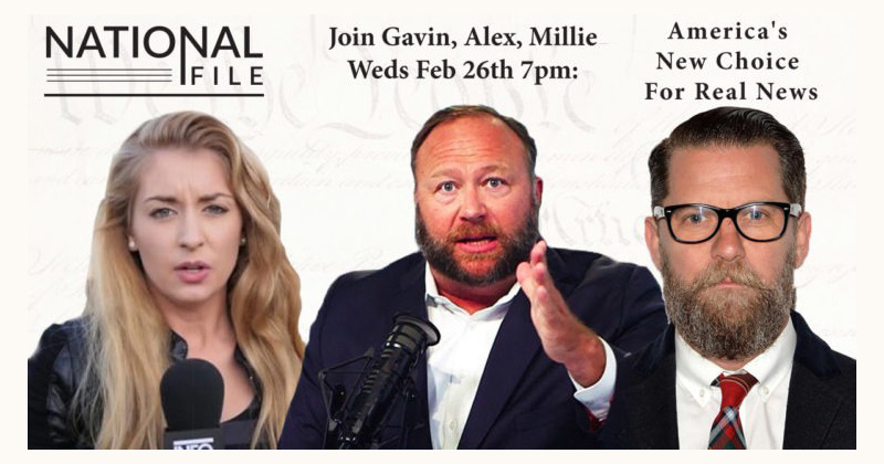 Come to the Emergency First Amendment Summit Featuring Alex Jones in Washington, D.C. on Wednesday