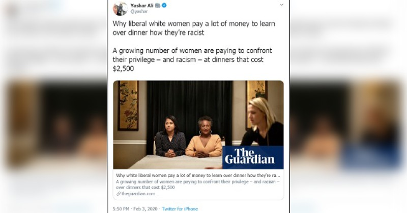 Liberal White Women Pay $2,500 to be Lectured About How Racist They Are