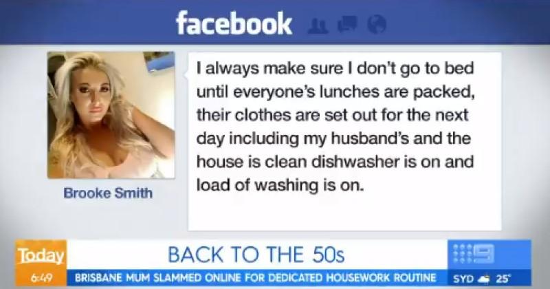 """Australian Mom """"Slammed"""" For Wanting to Make Breakfast For Her Husband"""