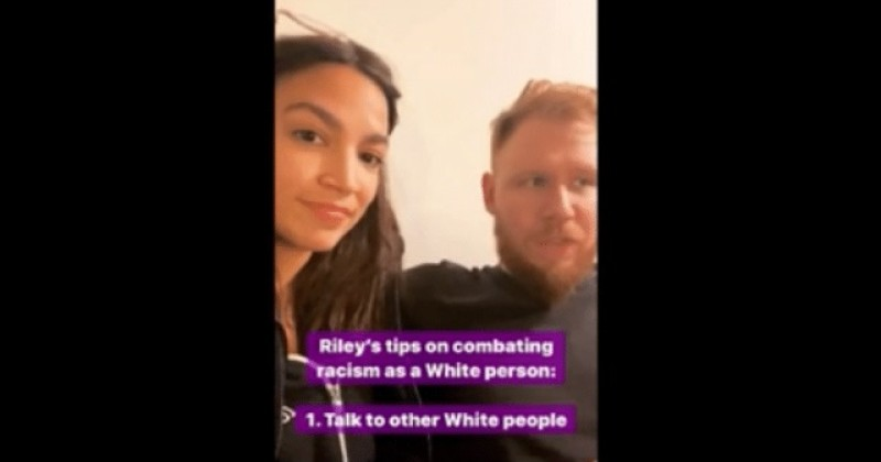 AOC And Boyfriend Riley Roberts Share Tips For White People On 'Combating Racism'