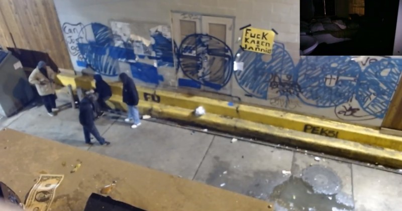 Live Webcam Stream Located in Crack Alley Broadcasts User-Generated Sounds