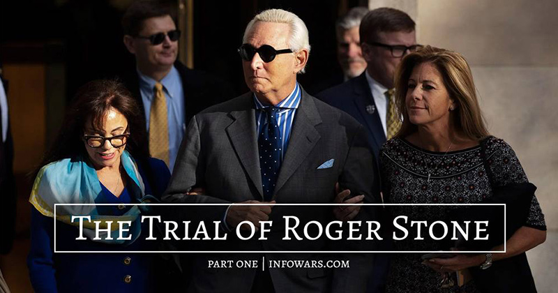 Watch: The Trial of Roger Stone - Part 1