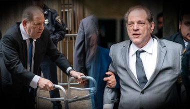 It's A Miracle! Convicted Rapist Harvey Weinstein Leaves Court Without Walker