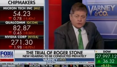 "Napolitano Calls Judge's Gag Order On Roger Stone ""Stalinistic"""