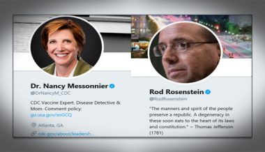 "What? Rod ""The Rat"" Rosenstein's Sister Is CDC Dr. Who Countered Trump on Coronavirus"