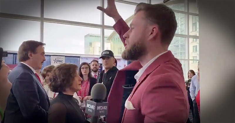 Watch Infowars' Owen Shroyer Get Kicked Out Of CPAC 2020