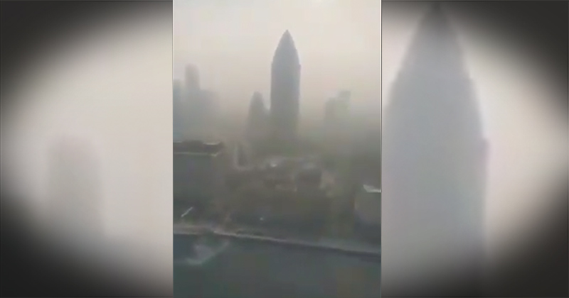 """""""Death"""" Smog Suffocates Wuhan: Residents Fear Crematoriums Burning Victims 24-7"""