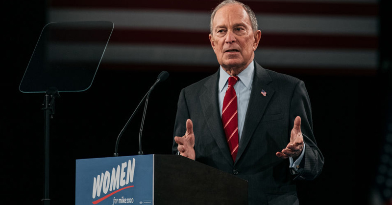 Caught: Bloomberg Campaign Plagiarizes MSM/Globalist Groups