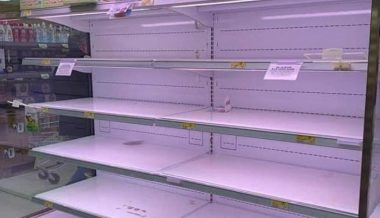 Coronavirus: Store Shelves Empty as Panic Buying Hits Italy