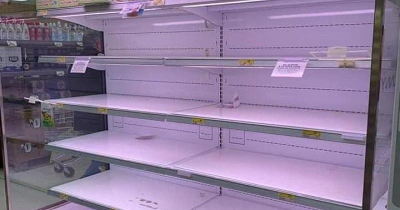Coronavirus: Store Shelves Empty as Panic Buying Hits Italy