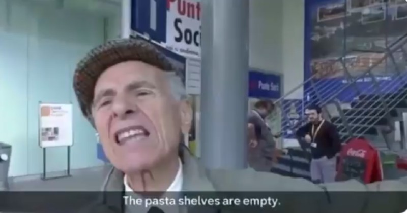 """""""The Pasta Shelves Are Empty"""": Panic Buying Continues in Italy"""