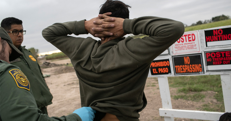 'Catch and Release Is All But Done,' as Border Arrests Drop for Eighth Straight Month