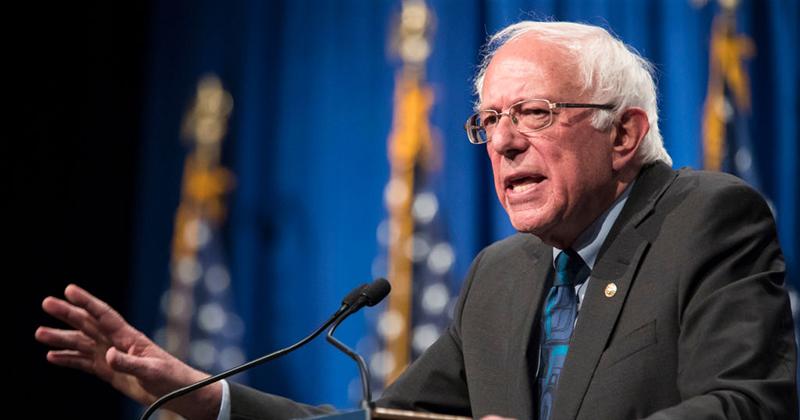 Trump congratulates 'Crazy Bernie' for huge 47 per cent Nevada caucuses win that crushed Democrat rivals