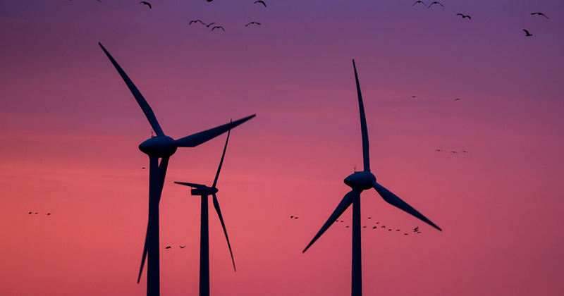 'GREEN ENERGY': WIND TURBINES ARE 'PILING UP IN LANDFILLS,' CAN'T BE RECYCLED GettyImages-1192512532