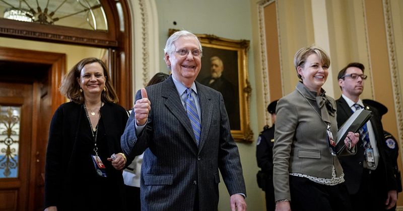 Senate Votes Down Extra Impeachment Witnesses, Paves Way for Trump Acquittal