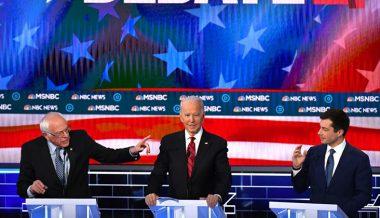 Pete Buttigieg Implies Bernie Sanders Wants to Incite Violence with Campaign