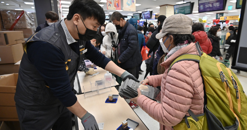 South Korea Hits 1,000 Coronavirus Cases