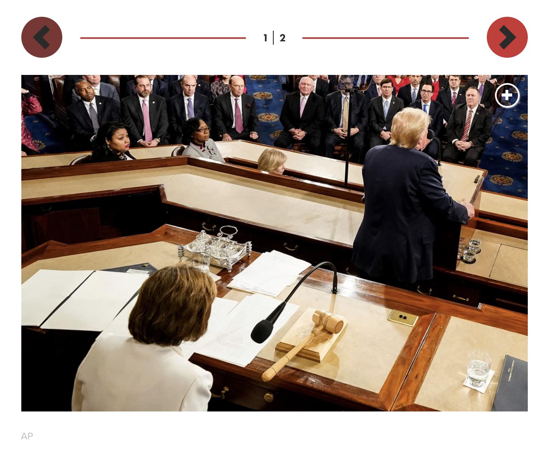Planned Spectacle: Pelosi 'Pre-Ripped' SOTU Speech