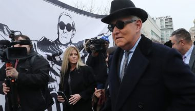 Live Coverage of the Crucifixion of Roger Stone in DC