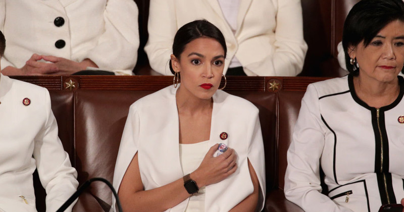 AOC Says She's Skipping Trump's 2020 State of the Union