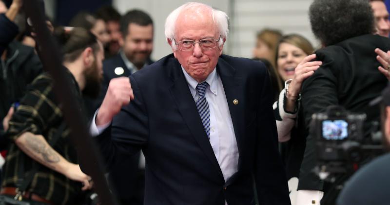 Sanders Edges Buttigieg to Win New Hampshire Dem Primary
