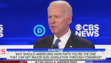 Biden Claims Half of U.S., '150 million' People, Killed By Guns 'since 2007'